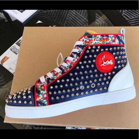 8c29280ae86 Louboutin Orlato flat sneaker NWT